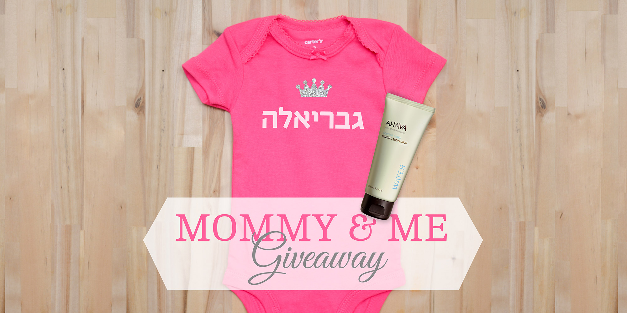 Mommy & Me Instagram Giveaway!