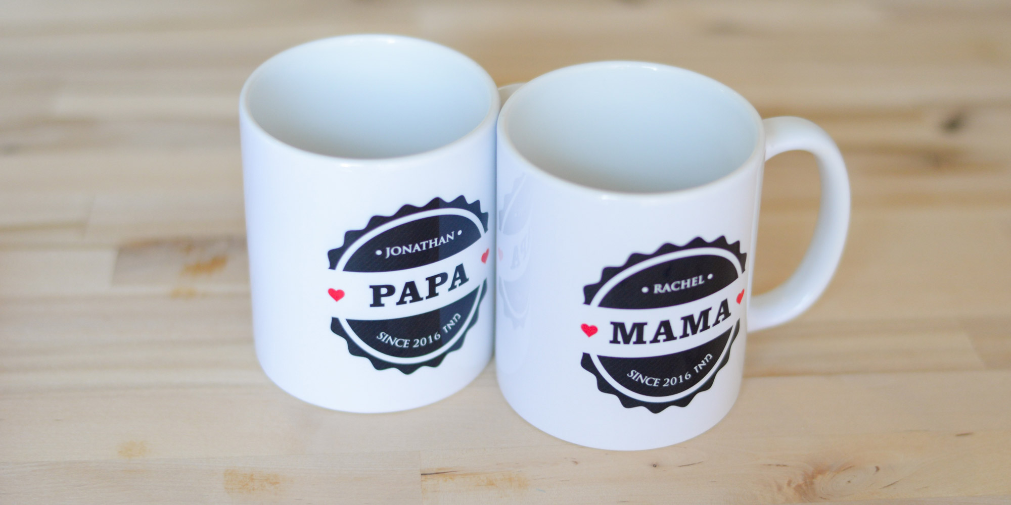 New mom, New dad, Personalized, Jewish gift Mugs