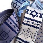 Hanukkah Sweater Tie, Star of David