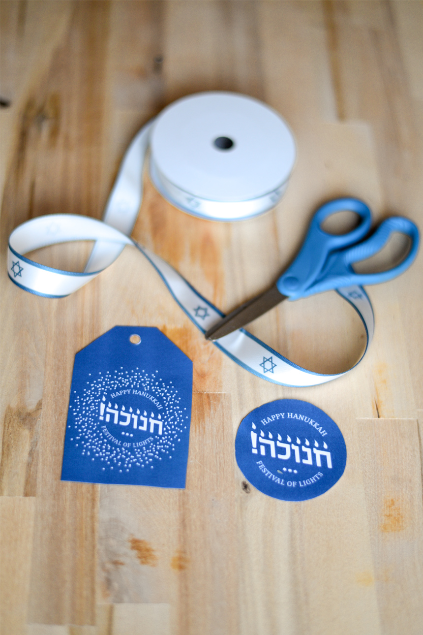 photo about Printable Hanukkah Card named Hanukkah Craft Absolutely free printable Hanukkah playing cards Sufganiyot