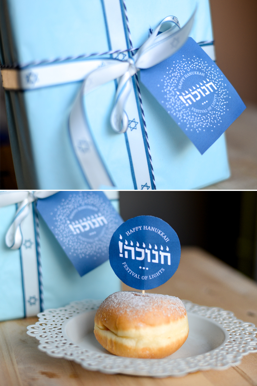 Free printable Hanukkah Card, Hanukkah craft. Chanukah Decoration