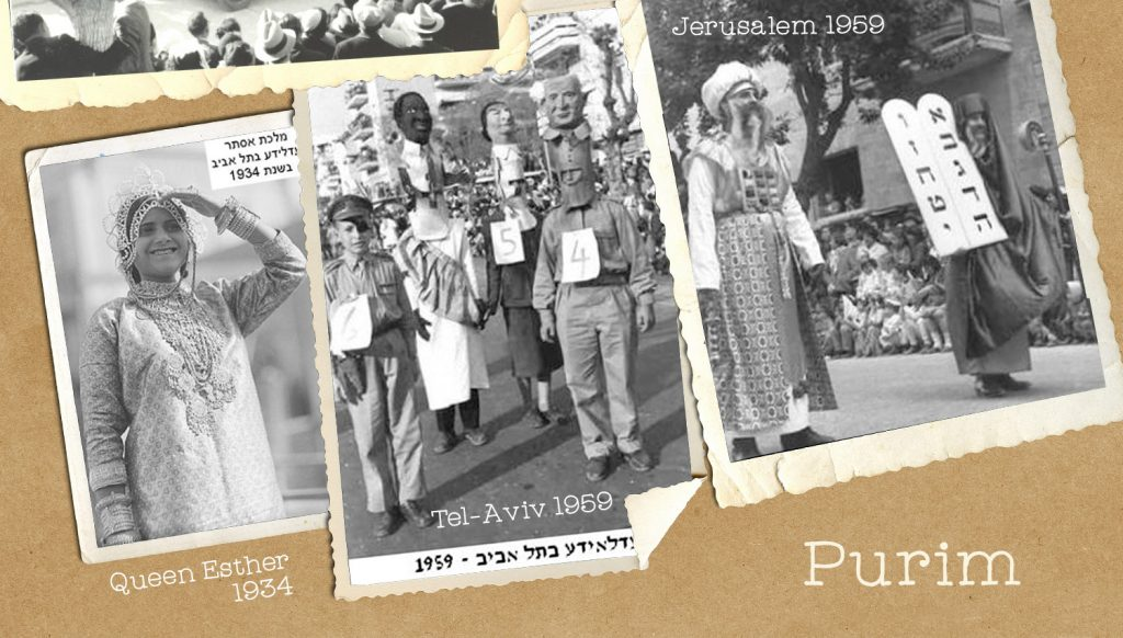 Jewish holiday, Purim parade, Adloyada