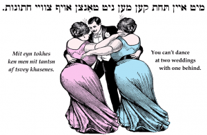 Yiddish proverb, Purim